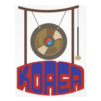 Korean Gong Letterhead