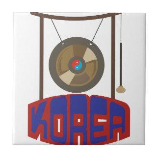 Korean Gong Tile
