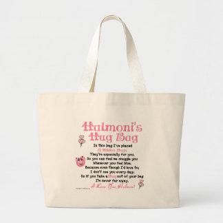 Korean - Halmoni - Single Verse Large Tote Bag