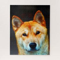 korean Jindo Dog. Jigsaw Puzzle