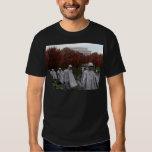 Korean Memorial and Lincoln Memorial Fall T Shirts