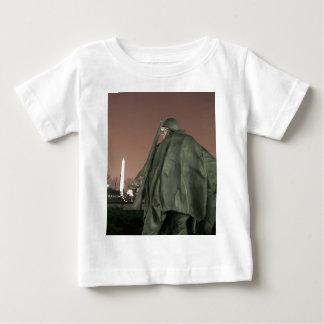 Korean Memorial and Washington Monument at night Baby T-Shirt