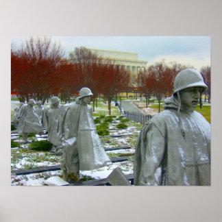 korean memorial poster