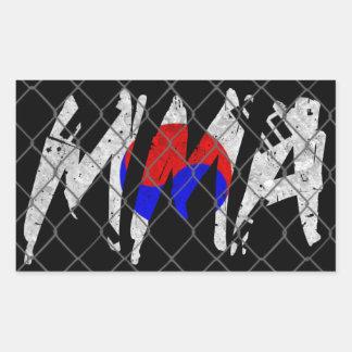 Korean MMA Sticker