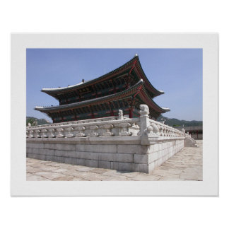 Korean Palace Poster