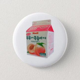 Korean Peach Milk Button