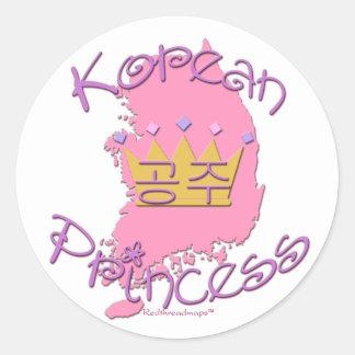 Korean Princess Stickers