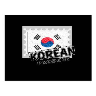 Korean product postcard