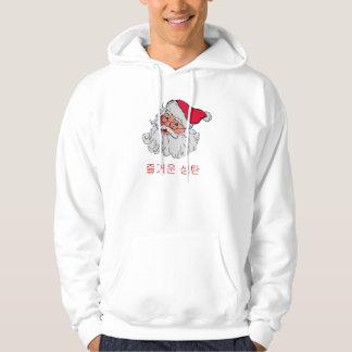 Korean Santa Hooded Sweatshirt