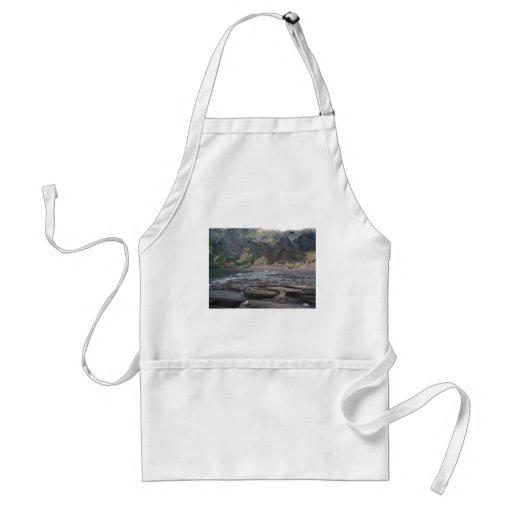 Korean seashore adult apron