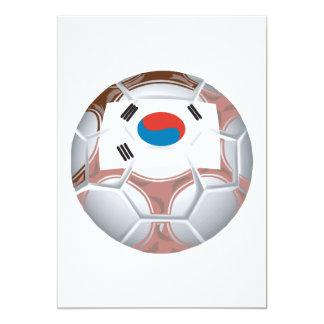Korean Soccer Card