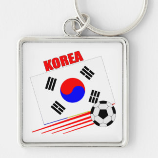 Korean Soccer Team Keychain