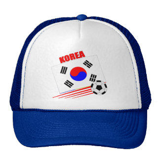 Korean Soccer Team Trucker Hat