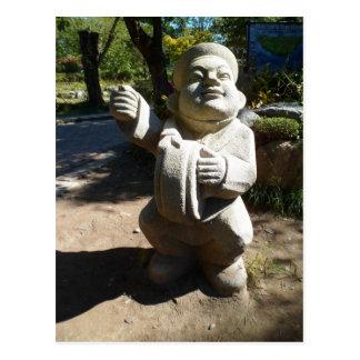 Korean Statue (3) Postcard
