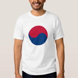 Korean Taegeuk sign Playeras
