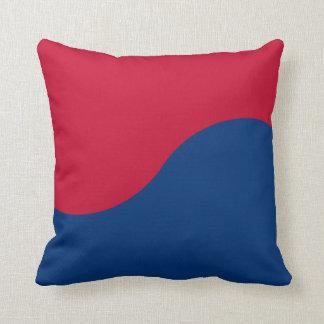 Korean Taegeuk sign Throw Pillows