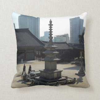 Korean Throw Pillow
