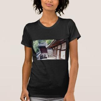 Korean traditional house tee shirts