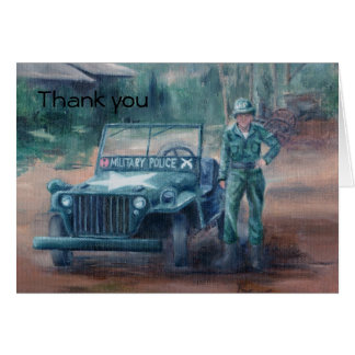 Korean War Hero Thank You Card