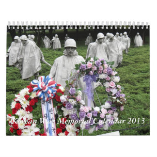 Korean War Memorial Calendar 2013