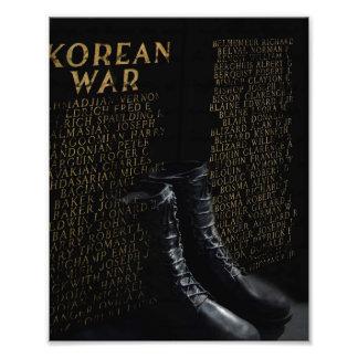 Korean War Memorial, Northboro, MA Photo Print