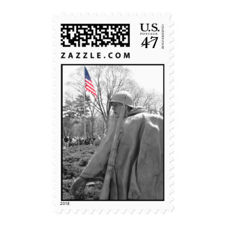 Korean War Memorial Postage Stamps