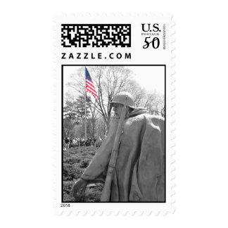 Korean war veterans memorial stamp | 2nd Year Postage Stamp ...