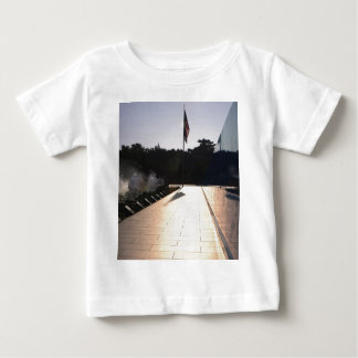 Korean War Memorial sunrise Baby T-Shirt