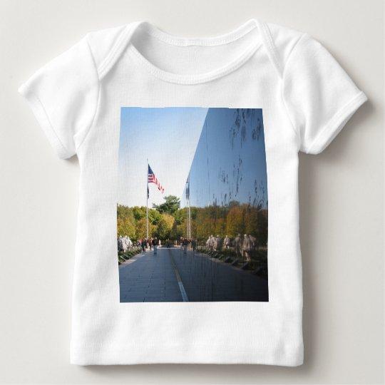 Korean War Memorial veterans Baby T-Shirt