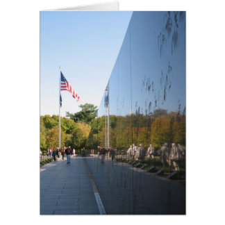 Korean War Memorial veterans Card