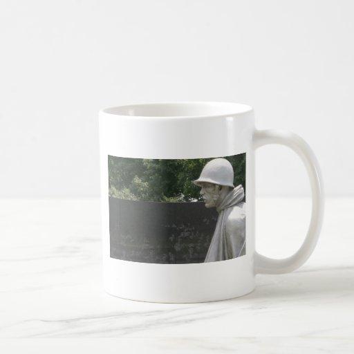 Korean War Memorial veterans Coffee Mug