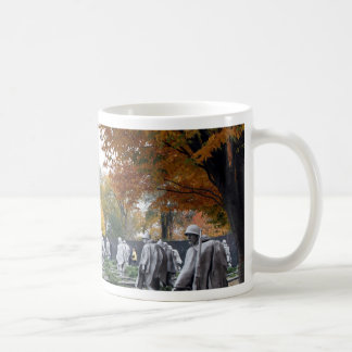 Korean War Memorial veterans Coffee Mug