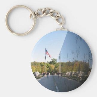 Korean War Memorial veterans Key Chain