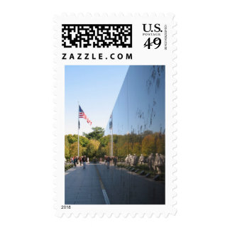 Korean War Memorial veterans Postage