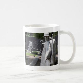 Korean War Memorial Veterans Status Coffee Mug