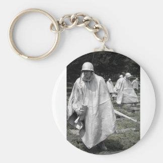 Korean War Memorial veterans Status Key Chains