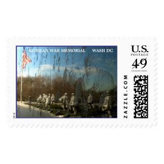 KOREAN WAR MEMORIAL     WASH DC POSTAGE