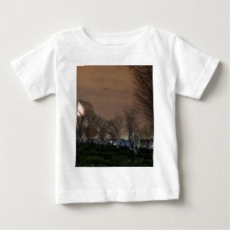 Korean War Memorial Washington Monument night Baby T-Shirt