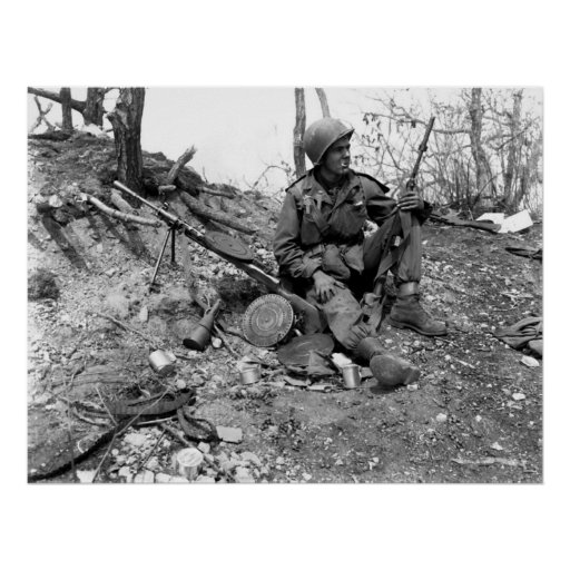 Korean War Print