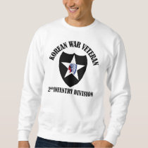 Korean War Veteran - 2nd ID Sweatshirt