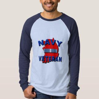 Korean War Veteran Service Ribbon, NAVY T-Shirt