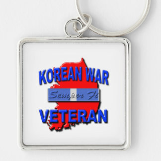 Korean War Veteran Service Ribbon, Semper Fi Keychains