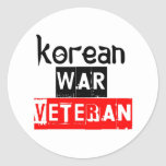 korean war veteran sticker