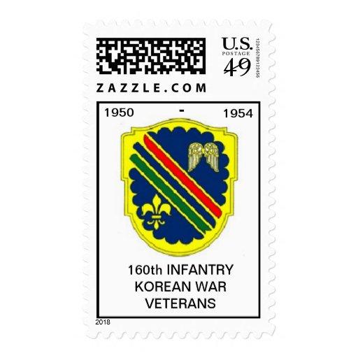Korean War Veterans 160th Reg. Stamp