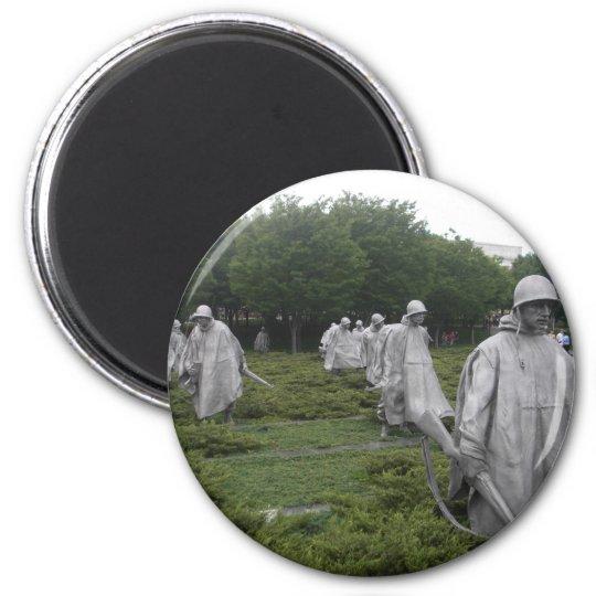 Korean War Veteran's Memorial Magnet