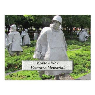 Korean War Veterans Memorial - postcard