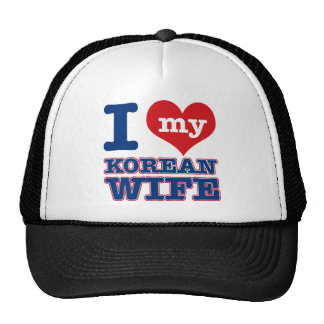 Korean wife designs trucker hat
