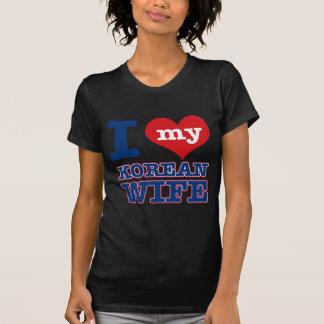 Korean wife designs t shirt