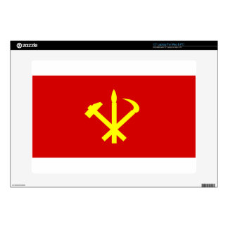 "Korean Workers' Party - Korea Juche Kim Communist 15"" Laptop Skin"