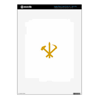 Korean Workers' Party - Korea Juche Kim Communist iPad 3 Decal